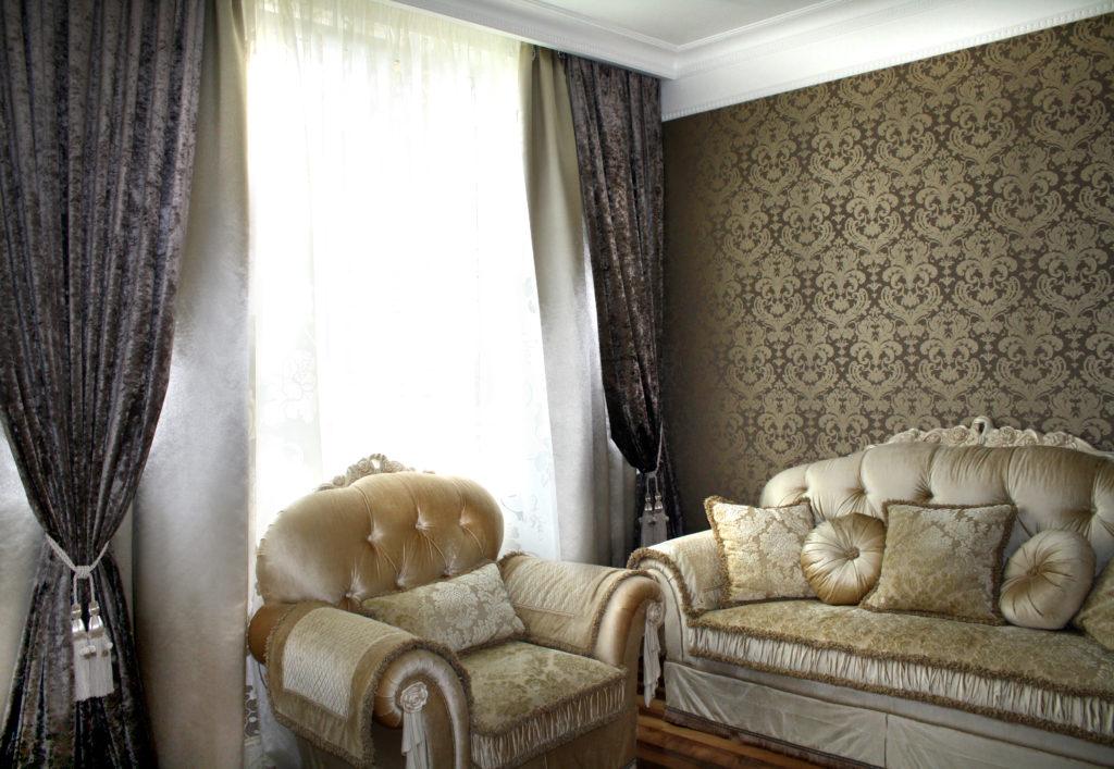 Химчистка штор, диванов, кресел, чехлов для мебели в Одинцово